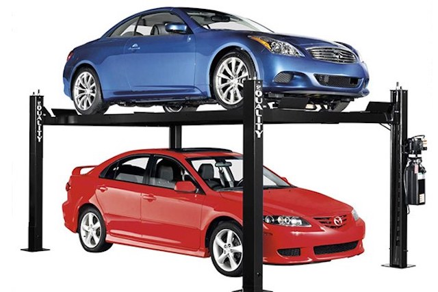 The Four Different Home Car Lift Types: Pros and Cons
