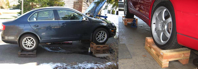 Diy Car Lift Probably Not A Good Idea Kwik Lift Blog